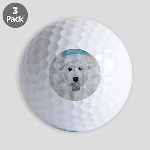 Tarheel Santa Golf Balls