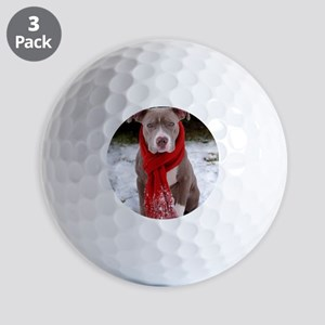 Holiday Pit Bull Golf Balls