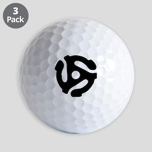45 rpm vinyl adapter Golf Balls