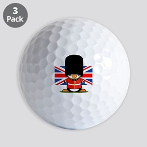 British Soldier Penguin Golf Balls