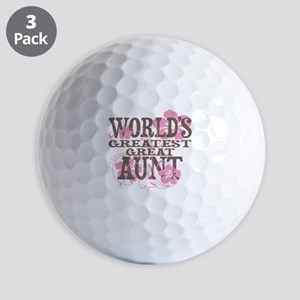 Great Aunt Golf Balls