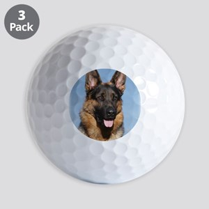 German Shepherd Dog 9Y554D-150 Golf Balls