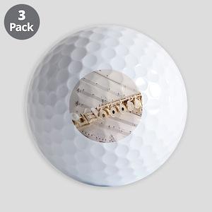 Flute and Music Golf Balls