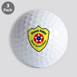 Scooter Police Golf Balls