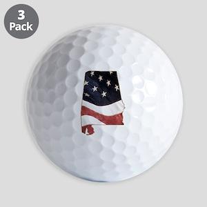 Alabama USA Golf Balls