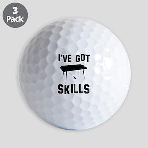 Keyboard Designs Golf Balls