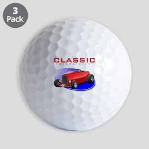 Classic Hot Rod Golf Balls
