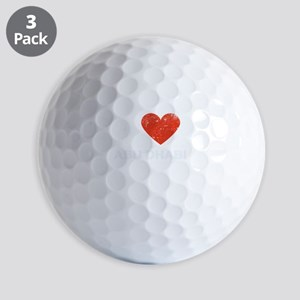 I Love Abu Dhabi Golf Balls