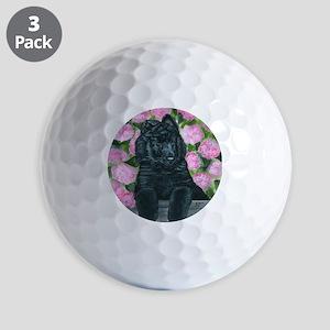 bel shep flower baby Golf Balls