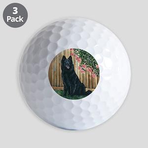 bel shep flower mom Golf Balls