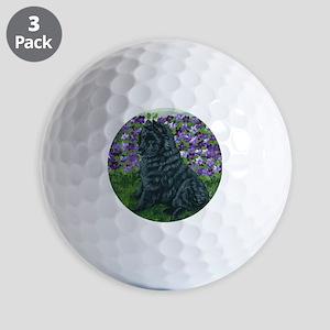 bel shep purple flower baby Golf Balls
