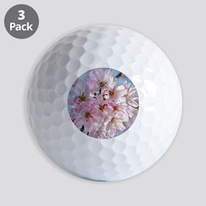 Japanese Cherry Blossoms Golf Balls
