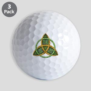 Celtic Trinity Knot Golf Balls
