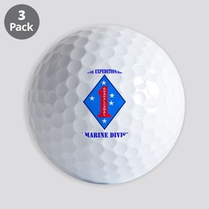 SSI-1st MEF-1st Marine Division WITH TE Golf Balls