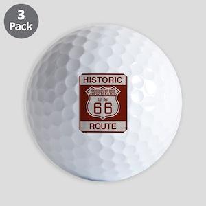 Albuquerque Route 66 Golf Ball