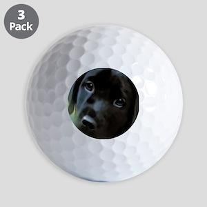 black lab Golf Balls