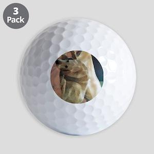 Yellow Lab Golf Balls
