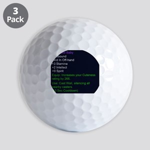 Cute Little Baby Epic Item Golf Balls