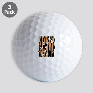 Lion Paw Print Golf Ball