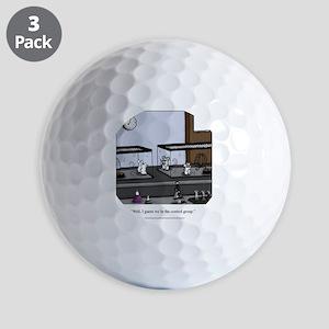 Control Group Mice Golf Balls