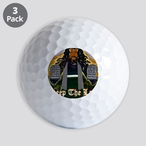 Keep the Law...Moses Golf Balls