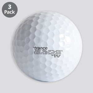 In Trance We Trust Golf Balls