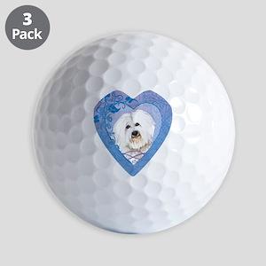 coton-heart Golf Balls