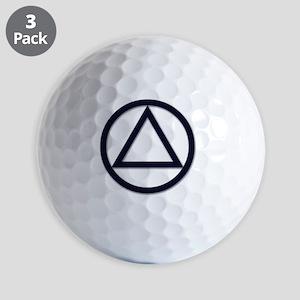 AA_symbol_dark Golf Balls