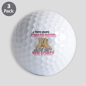 Combat boots Air Force Golf Balls