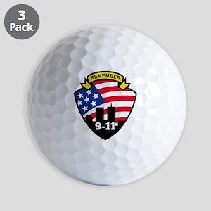 9-11 Golf Balls
