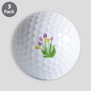 Tulips Plant Golf Ball