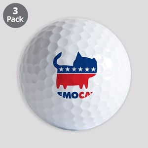 demoCAT party Golf Balls