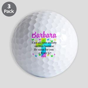 1 PETER 5:7 Golf Balls