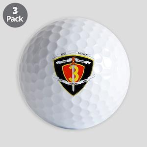 SSI - 1st Battalion - 3rd Marines Golf Balls
