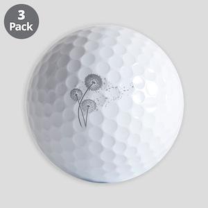 Dandelion Wishes Golf Balls