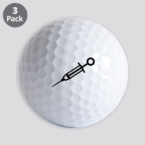 Injection syringe Golf Balls