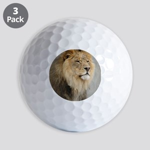 Lion Lovers Golf Balls