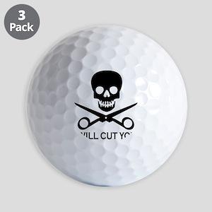 Beauty Shop Pirate 1 Golf Balls