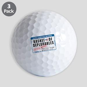 Basket of Deplorables Golf Balls