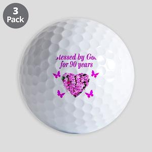 CHRISTIAN 90 YR OLD Golf Balls