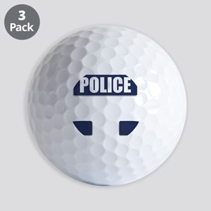 Police Bullet-Proof Vest Golf Balls