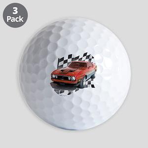 73stang Golf Balls