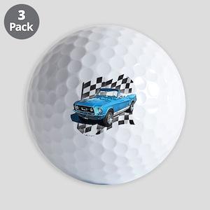 67blue Golf Balls