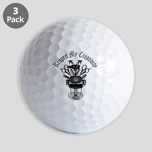 My Throne Hair style chair Golf Balls
