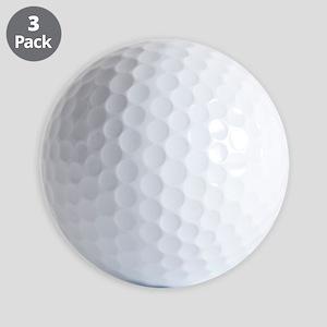 Chocolate Lab Puppy portrait Golf Balls
