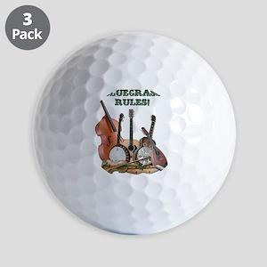 DAmbrosioArts_BluegrassRules_sm Golf Balls