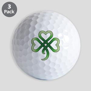 celtic clover Golf Balls