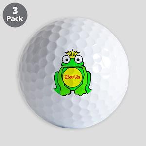 2-frog prince Golf Balls