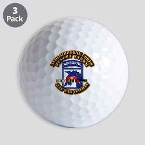 Army - DS - XVIII ABN CORPS - w DS Golf Balls