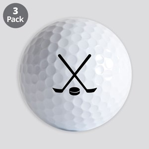Hockey sticks puck Golf Balls